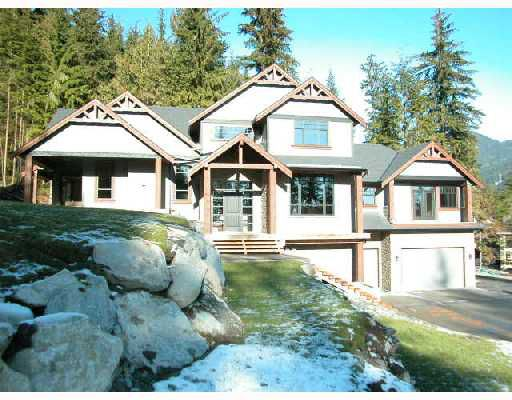 Main Photo: 2871 FERN Drive: Anmore House for sale (Port Moody)  : MLS®# V683025