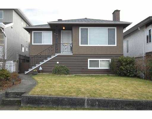 Main Photo: 6928 DUMFRIES Street in Vancouver: Knight House for sale (Vancouver East)  : MLS®# V691147