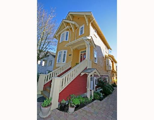 Main Photo: 3530 W 5TH Avenue in Vancouver: Kitsilano House 1/2 Duplex for sale (Vancouver West)  : MLS®# V701973
