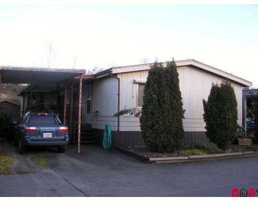 "Main Photo: 37 3300 HORN Street in Abbotsford: Central Abbotsford Manufactured Home for sale in ""GEORGIAN PARK"" : MLS®# F2802284"