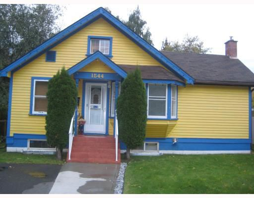 """Main Photo: 1544 GORSE Street in Prince_George: Millar Addition House for sale in """"MILLAR ADDITION"""" (PG City Central (Zone 72))  : MLS®# N179653"""