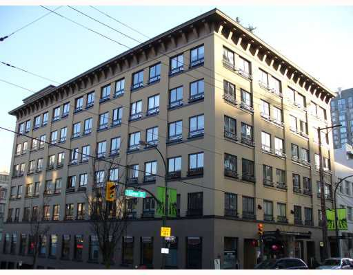 """Main Photo: 207 1216 HOMER Street in Vancouver: Downtown VW Condo for sale in """"MURCHIES BUILDING"""" (Vancouver West)  : MLS®# V694235"""