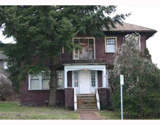 Main Photo: 63 MERIVALE ST in New Westminster: Downtown NW House for sale : MLS®# V808861