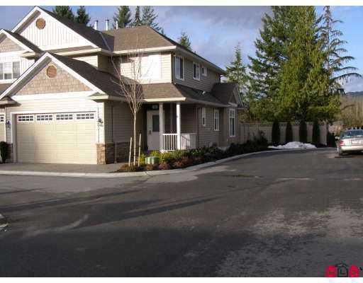 Main Photo: 20 32849 EGGLESTONE Avenue in Mission: Mission BC Townhouse for sale : MLS®# F2714316