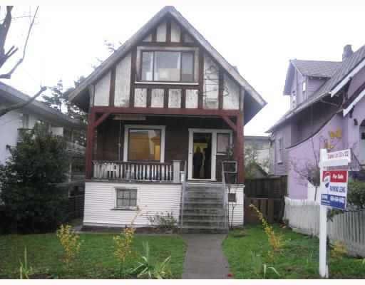 Main Photo: 2147 FRANKLIN Street in Vancouver: Hastings House 1/2 Duplex for sale (Vancouver East)  : MLS®# V679729