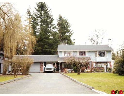 Main Photo: 18242 74TH Avenue in Surrey: Clayton House for sale (Cloverdale)  : MLS®# F2804200