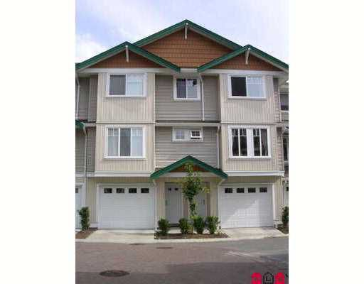 """Main Photo: 127 12711 64TH Avenue in Surrey: West Newton Townhouse for sale in """"Palette On the Park"""" : MLS®# F2718860"""