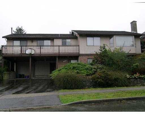 Main Photo: 6318 PARKVIEW Place in Burnaby: Upper Deer Lake House for sale (Burnaby South)  : MLS®# V631078