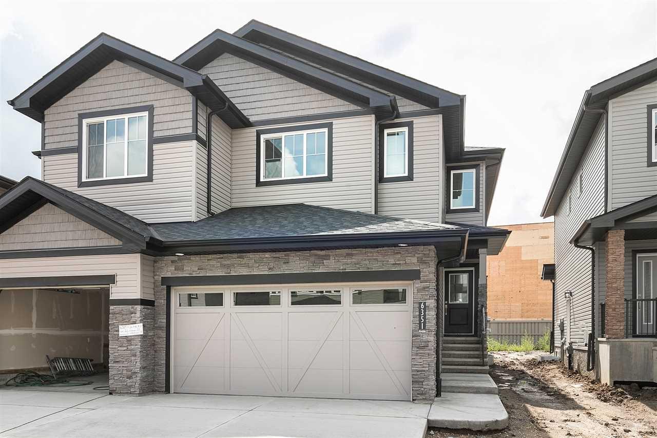 Main Photo:  in Edmonton: Zone 55 House Half Duplex for sale : MLS®# E4165381