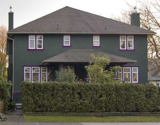 Main Photo: 1994 W 12TH Avenue in Vancouver: Kitsilano House 1/2 Duplex for sale (Vancouver West)  : MLS®# V693088