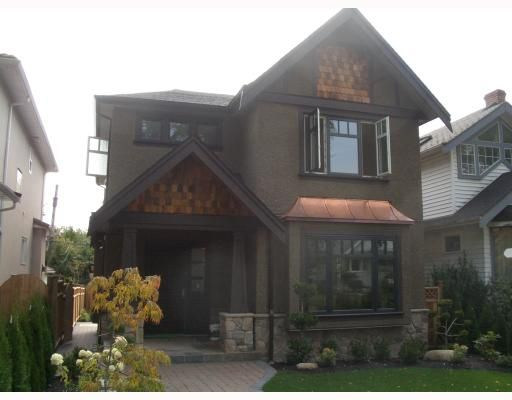 Main Photo: 3880 West 24th Avenue in Vancouver: Dunbar House for sale (Vancouver West)  : MLS®# v735134