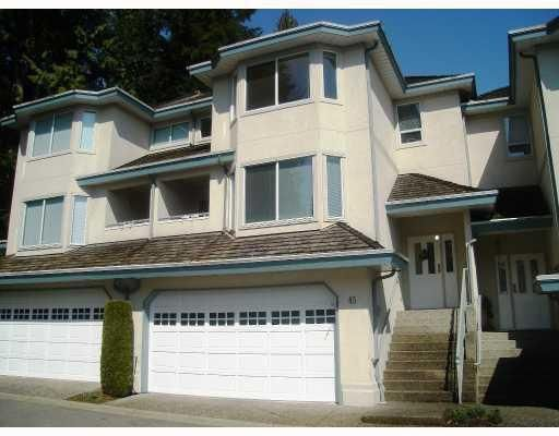 Main Photo: # 45 2990 PANORAMA DR in Coquitlam: Condo for sale : MLS®# V797101