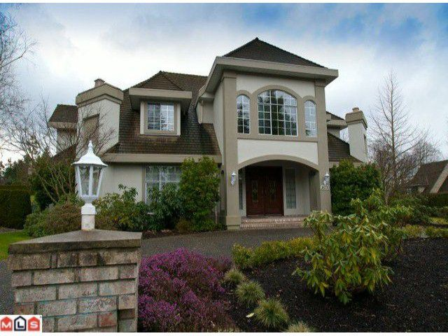 """Main Photo: 16730 27TH AV in Surrey: Grandview Surrey House for sale in """"Kensington Heights"""" (South Surrey White Rock)  : MLS®# F1104046"""