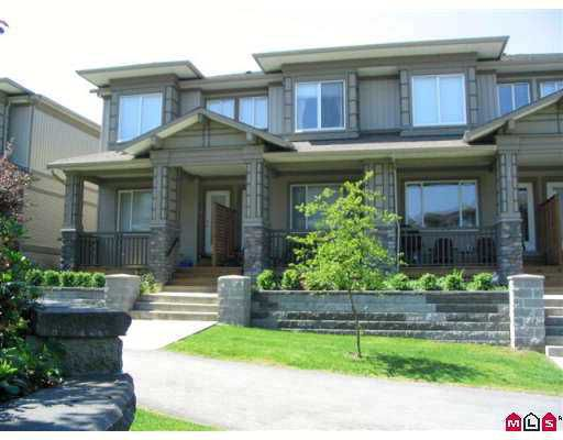 """Main Photo: 121 18701 66TH Avenue in Surrey: Cloverdale BC Townhouse for sale in """"ENCORE AT HILLCREST"""" (Cloverdale)  : MLS®# F2713113"""