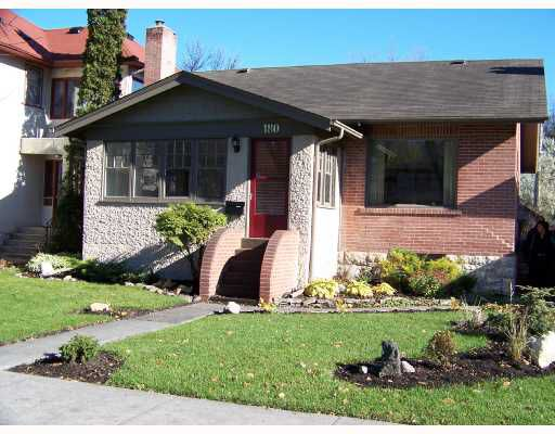 Main Photo: 180 BROCK Street in WINNIPEG: River Heights / Tuxedo / Linden Woods Single Family Detached for sale (South Winnipeg)  : MLS®# 2719064