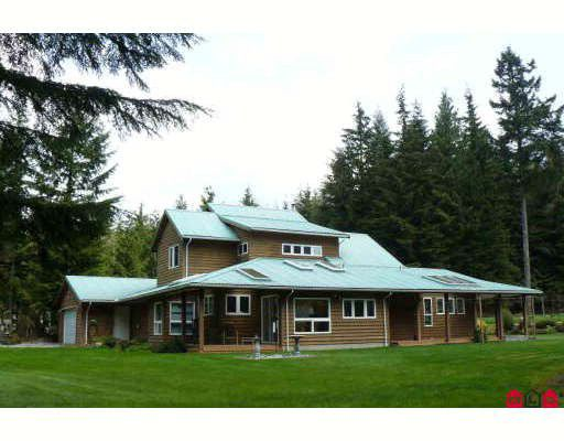 Main Photo: 12720 CARR Street in Mission: Stave Falls House for sale : MLS®# F2815714