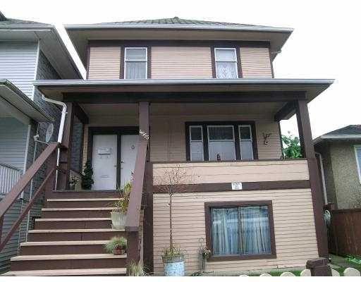 Main Photo: 4533 FRASER Street in Vancouver: Fraser VE House for sale (Vancouver East)  : MLS®# V625029