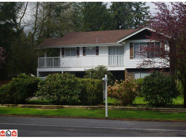 "Main Photo: 20101 42ND AV in Langley: Brookswood Langley House for sale in ""BROOKSWOOD"" : MLS®# F1110359"