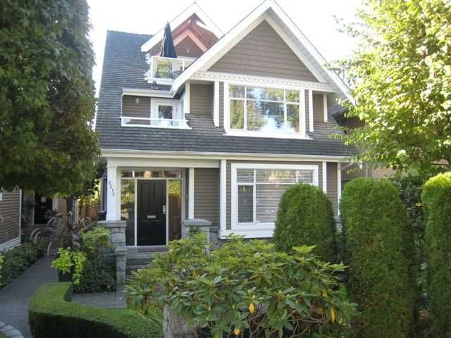 Main Photo: 2036 Whyte Avenue in Vancouver West, Kitsilano: Kitsilano House for sale (Vancouver West)  : MLS®# V792138