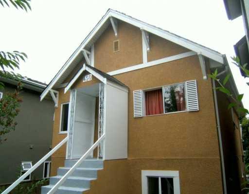 """Main Photo: 450 E 22ND AV in Vancouver: Fraser VE House for sale in """"CEDAR COTTAGE"""" (Vancouver East)  : MLS®# V601114"""
