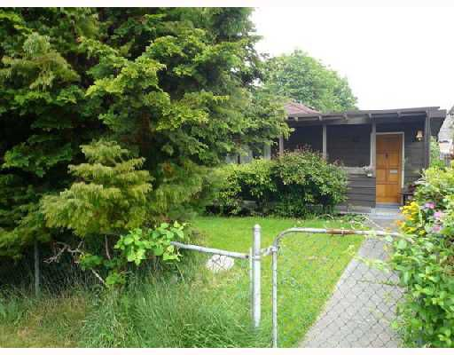 Main Photo: 873 DURWARD Avenue in Vancouver: Fraser VE House for sale (Vancouver East)  : MLS®# V712050