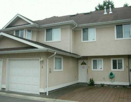 Main Photo: 3 10795 NO 2 Road in Richmond: Steveston North Townhouse for sale : MLS®# V633044