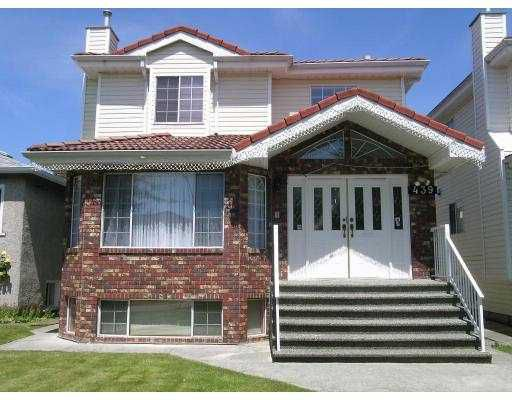Main Photo: 439 E 54TH Avenue in Vancouver: South Vancouver House for sale (Vancouver East)  : MLS®# V650782