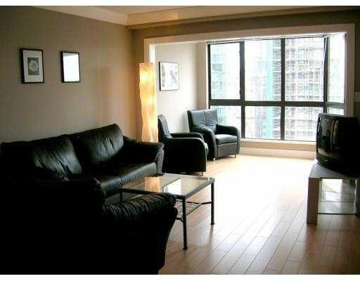 """Main Photo: 1207 488 HELMCKEN Street in Vancouver: Downtown VW Condo for sale in """"ROBINSON TOWER"""" (Vancouver West)  : MLS®# V640232"""