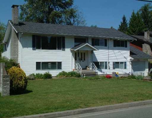 Main Photo: 547 EBERT AV in Coquitlam: Coquitlam West House for sale : MLS®# V590375