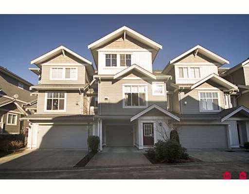 """Main Photo: 50 16760 61ST Avenue in Surrey: Cloverdale BC Townhouse for sale in """"HARVEST LANDING"""" (Cloverdale)  : MLS®# F2801987"""