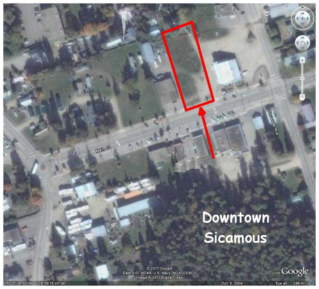 Main Photo:  in Sicamous: Downtown Vacant Land for sale : MLS®# 10058139
