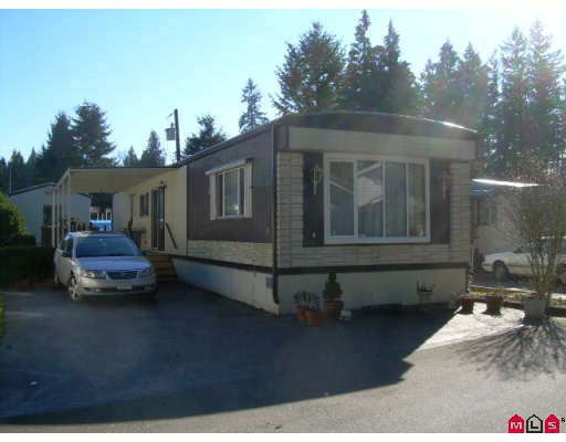 "Main Photo: 3 9080 198TH Street in Langley: Walnut Grove Manufactured Home for sale in ""Forest Green Estates"" : MLS®# F2804934"