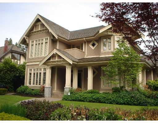 Main Photo: 6038 ADERA Street in Vancouver: South Granville House for sale (Vancouver West)  : MLS®# V654238