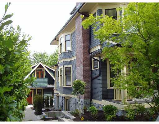 Main Photo: 2 445 W 15TH Avenue in Vancouver: Mount Pleasant VW Townhouse for sale (Vancouver West)  : MLS®# V640478