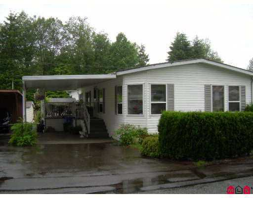 """Main Photo: 27A 24330 FRASER Highway in Langley: Otter District Manufactured Home for sale in """"Langley Grove"""" : MLS®# F2716013"""