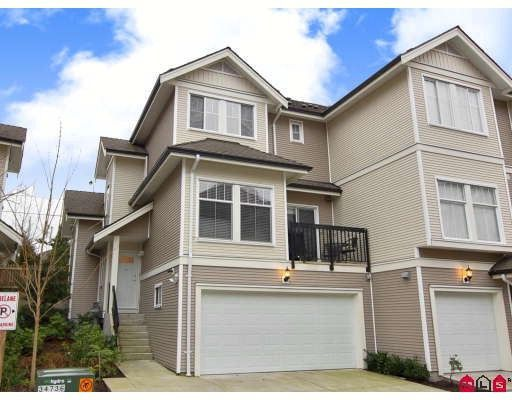 Main Photo: #18 - 21535 88TH AVE LANGLEY, WALNUT GROVE: Townhouse for sale : MLS®# F2800045