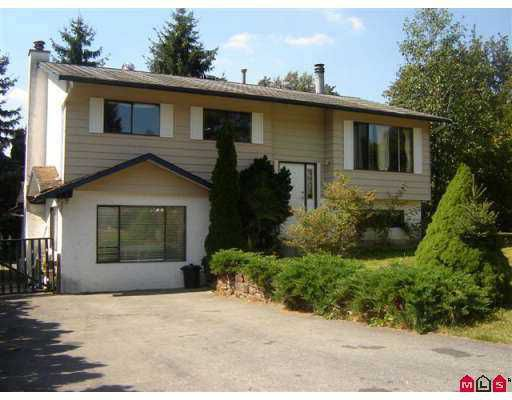 Main Photo: 7873 EIDER Street in Mission: Mission BC House for sale : MLS®# F2722739