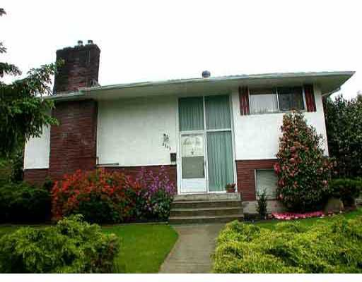 Main Photo: 3707 WELLINGTON ST in Port_Coquitlam: Oxford Heights House for sale (Port Coquitlam)  : MLS®# V290548