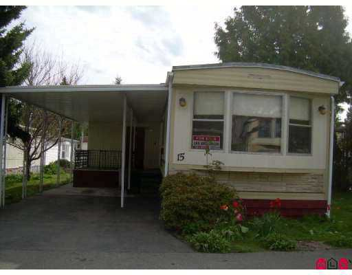 Main Photo: 7790 KING GEORGE Highway in Surrey: Bridgeview Manufactured Home for sale (North Surrey)  : MLS®# F2707957