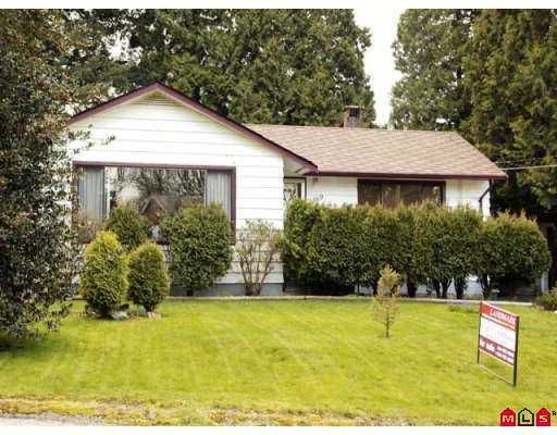 Main Photo: 2369 CLARKE Drive in Abbotsford: Central Abbotsford House for sale : MLS®# F2707990