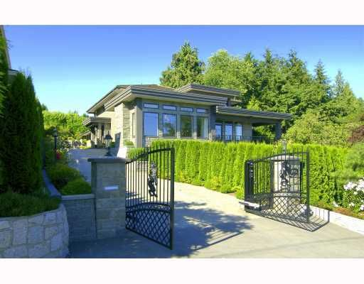 Main Photo: 775 Esquimalt Avenue in West Vancouver: Sentinel Hill House for sale : MLS®# V737576