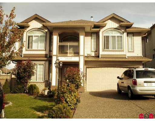 "Main Photo: 31408 HOMESTEAD in Abbotsford: Abbotsford West House for sale in ""TOWLINE AREA"" : MLS®# F2726283"