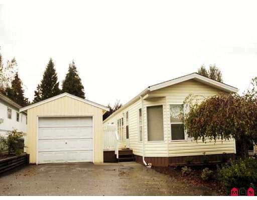 """Main Photo: 68 10221 WILSON Street in Mission: Mission-West Manufactured Home for sale in """"Triple Creek Estates"""" : MLS®# F2725415"""