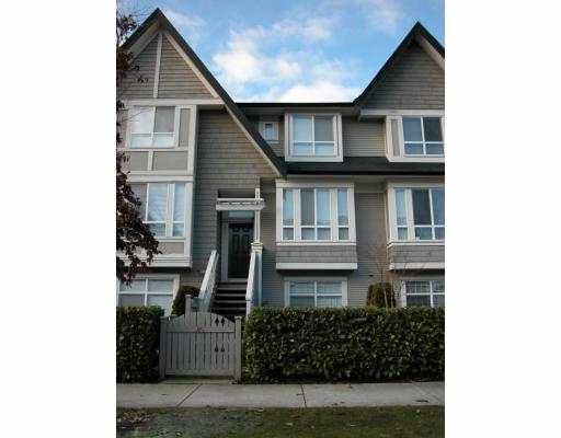 Main Photo: 85 9133 SILLS Avenue in Richmond: McLennan North Townhouse for sale : MLS®# V685164