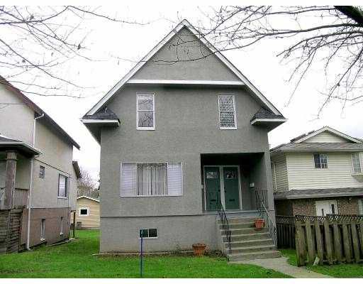 Main Photo: 929 931 E 11TH AV in Vancouver: Mount Pleasant VE House for sale (Vancouver East)  : MLS®# V573296