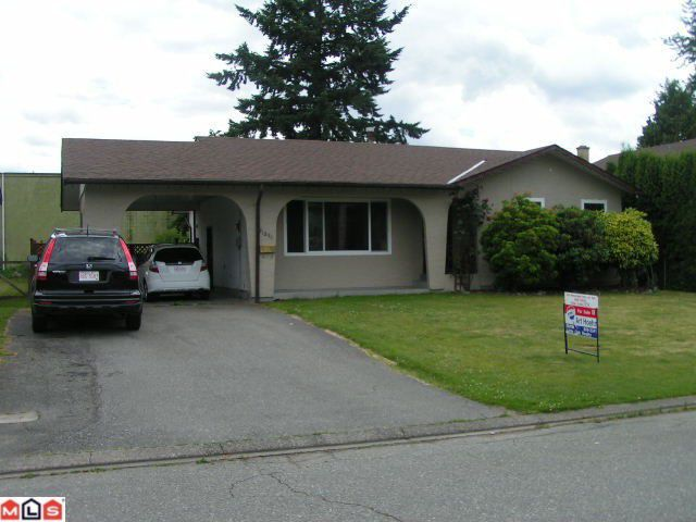 Main Photo: 31894 Madiera Place in Abbotsford: House  : MLS®# f1117455