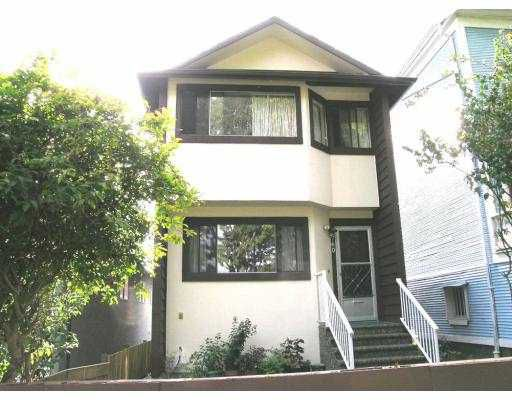 Main Photo: 760 E GEORGIA ST in Vancouver: Mount Pleasant VE House for sale (Vancouver East)  : MLS®# V614850