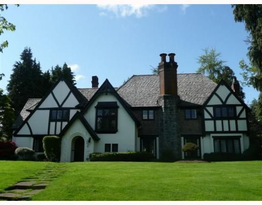 Photo 1: Photos: 1678 SOMERSET CR in Vancouver: House for sale : MLS®# V809964