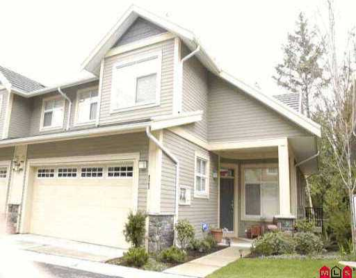 """Main Photo: 11 15255 36TH AV in Surrey: Morgan Creek Townhouse for sale in """"FERNGROVE"""" (South Surrey White Rock)  : MLS®# F2606200"""