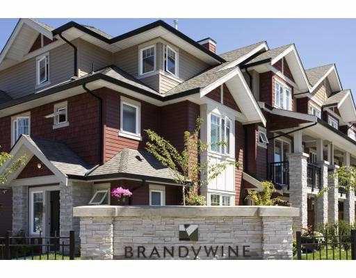 "Main Photo: 20 6188 BIRCH Street in Richmond: McLennan North Townhouse for sale in ""BRANDYWINE LANE"" : MLS®# V671396"